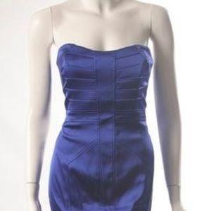 David Meister strapless dress
